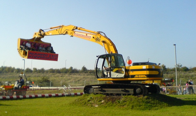 Diggerland Kent - the Spindizzy