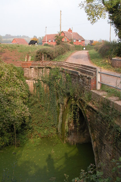 Bridge over the Hereford and Gloucester Canal