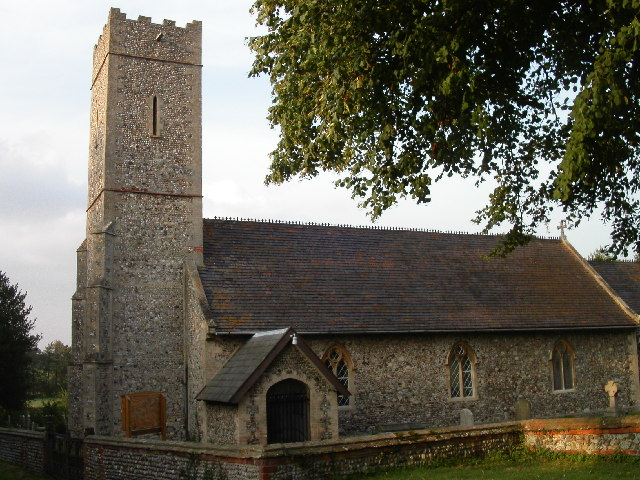 St James church, Dunwich