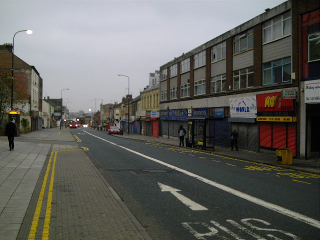 Gateshead High Street (Facing North)