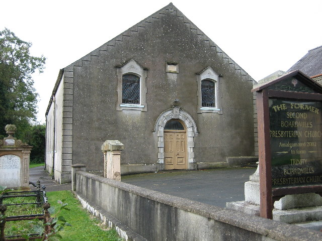 Former Second Boardmills Presbyterian Church
