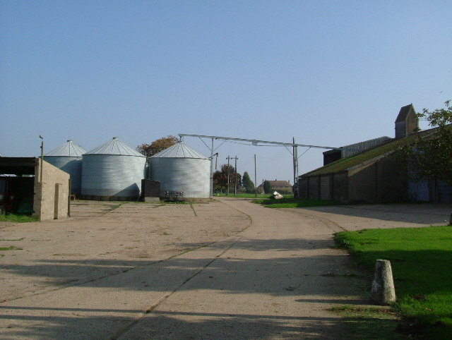Grain Dryers at Mucking Hall Farm