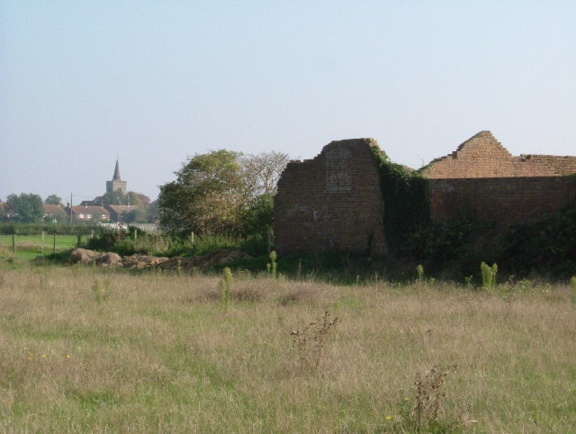 Ruins at New Buildings Farm
