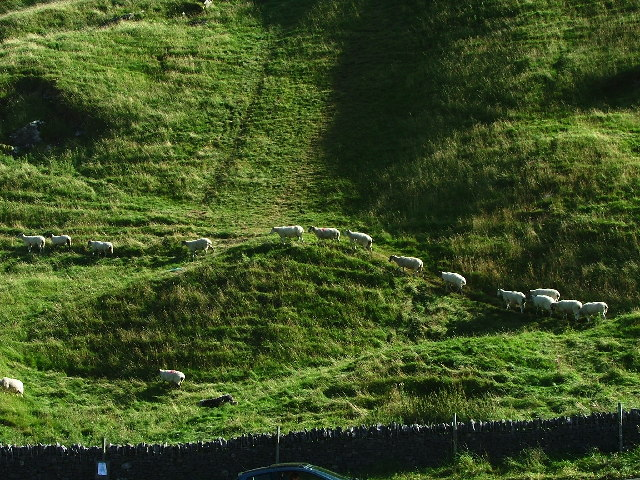 The Origin of the Footpath, Castleton