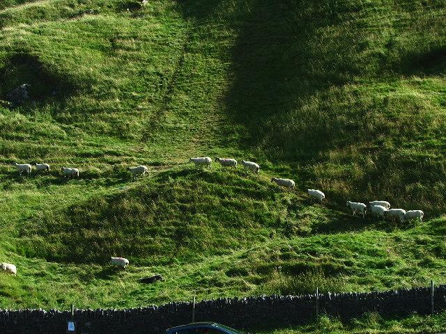 The Origin of the Footpath, Castleton