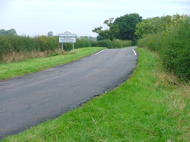 Stockton-on-Tees Borough Council Boundary
