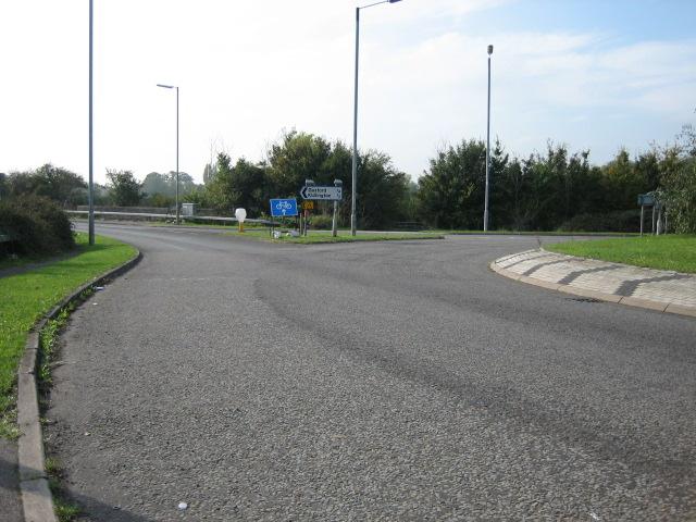 Roundabout looking towards Kidlington