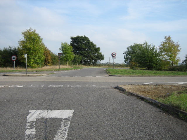 Road to Islip looking east