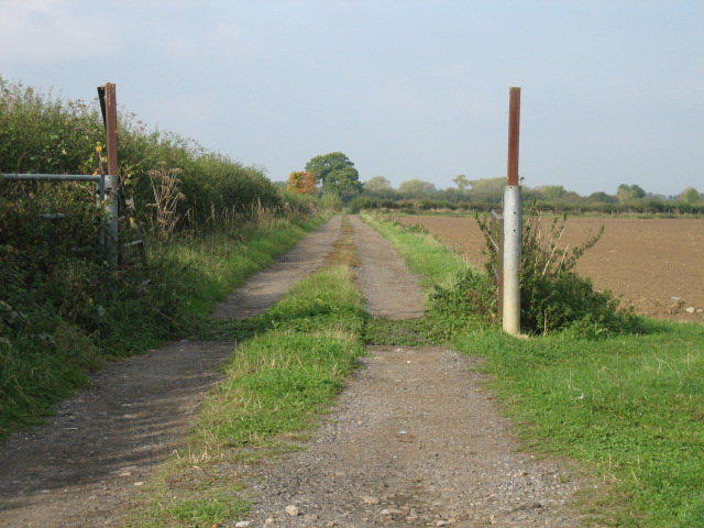 Track to Brookfurlong Farm