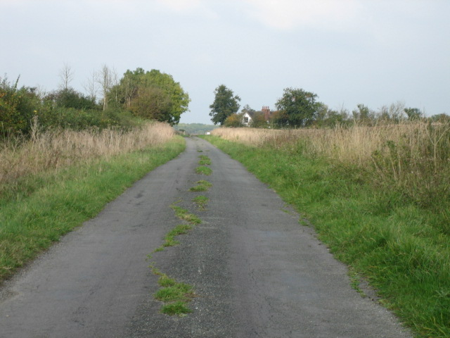 Road towards Oddington Grange