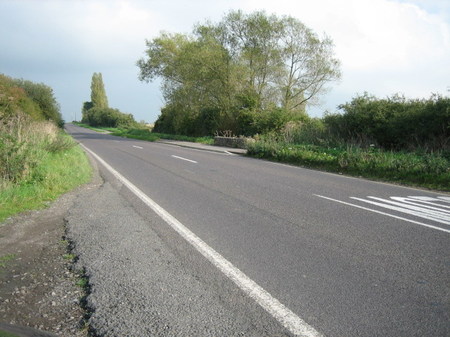 Road looking east