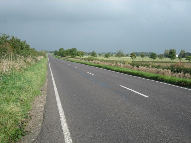 Road looking north-east
