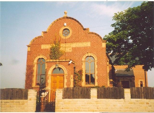 Former Chapel, Midgley, Sitlington