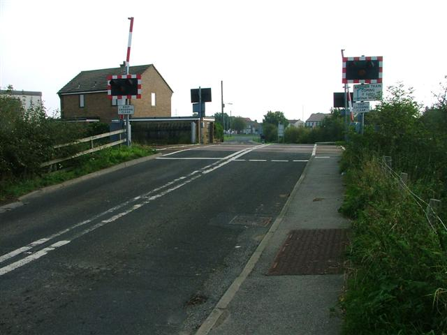 Level Crossing, Hartlepool Line