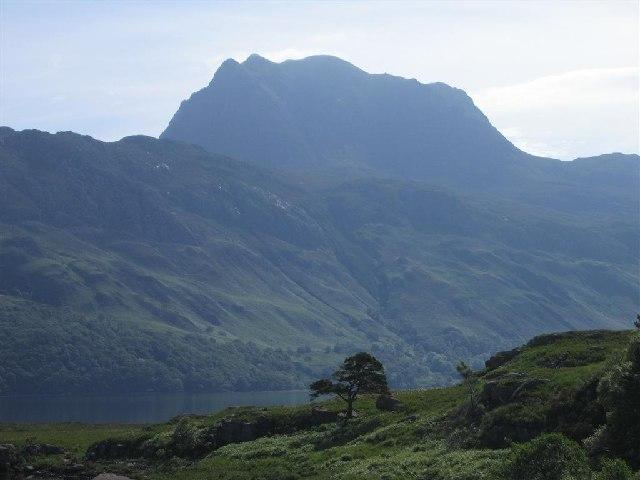Across Loch Maree to Slioch