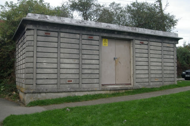 Electricity sub station, Alamein Road, Saltash