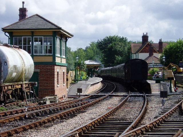 Kingscote Station, Bluebell Railway