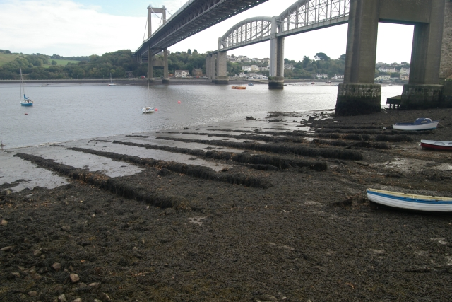 Sand Quay repair ramps, Saltash