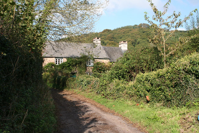 Brompton Regis: Hunt's Farm