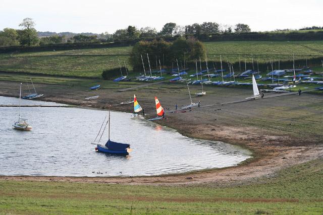 Brompton Regis: sailing club at Wimbleball Lake