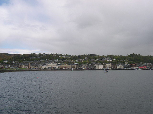 View of Oban Seafront