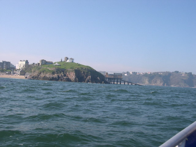 View of Castle Hill,  Tenby
