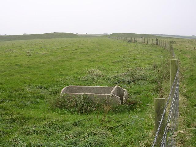 Interior of Eggardon hillfort
