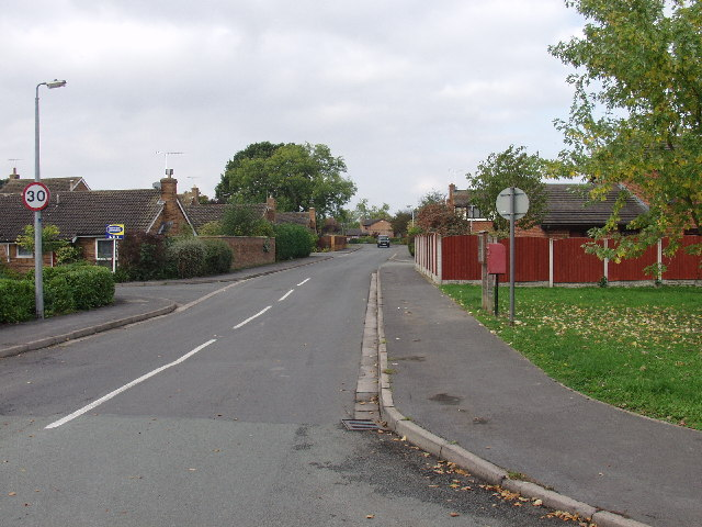 Newer housing at Cross lanes