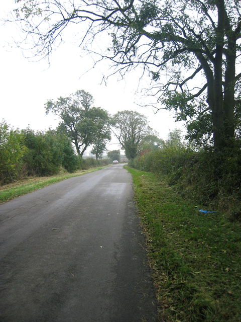 Country road near Goadby Marwood