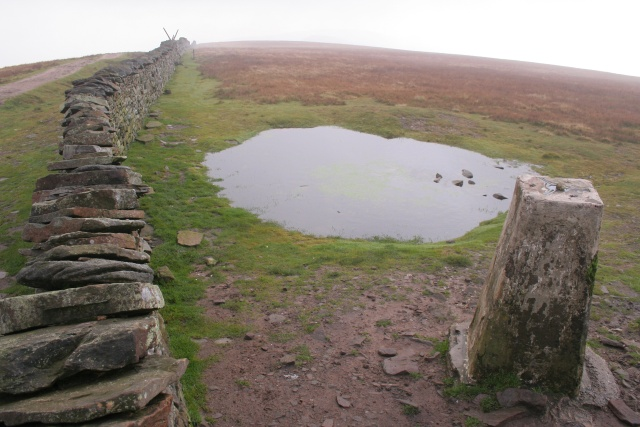 Trig point, Whernside