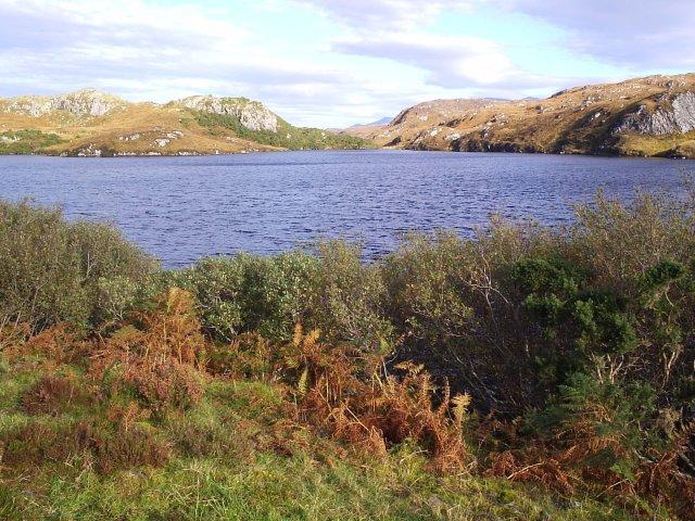 Loch a'Bhagh Ghainmhich
