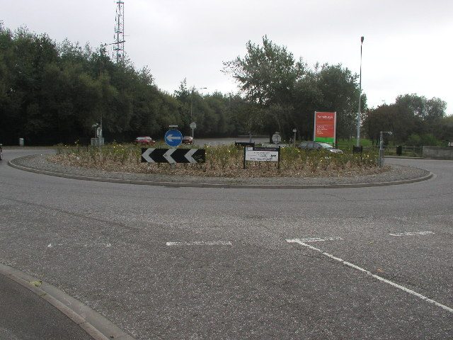 Hessle High Road roundabout