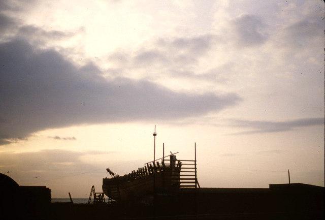 Macduff boatyard