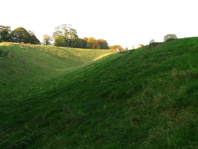 Circular Ditch at Avebury