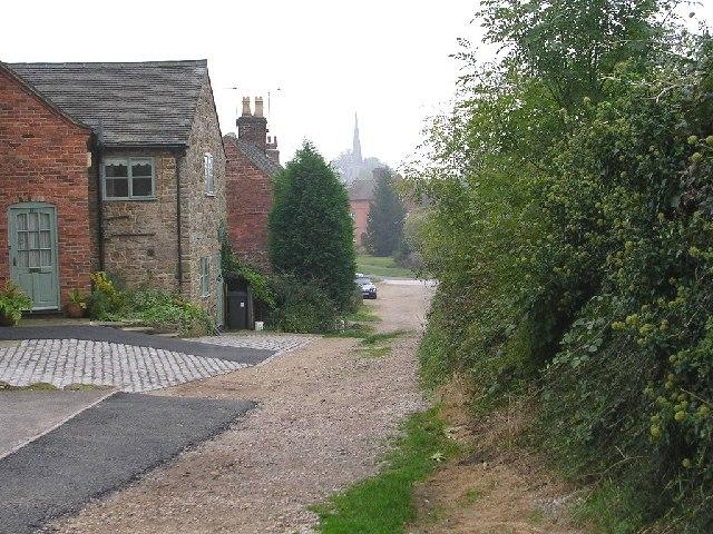 Banton Lane and Cottage, Ticknall