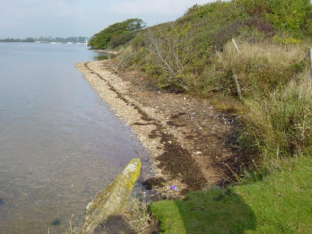 Beachline in the Bosham Channel
