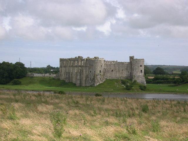 View of Carew Castle