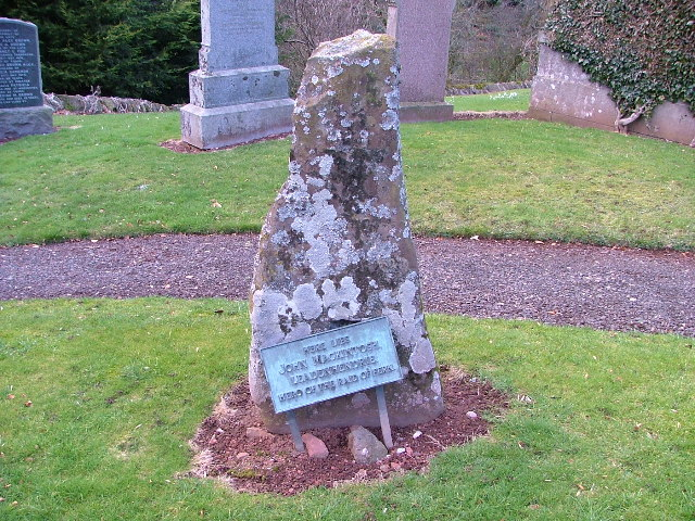 Grave of John Mackintosh Leadenhendrie