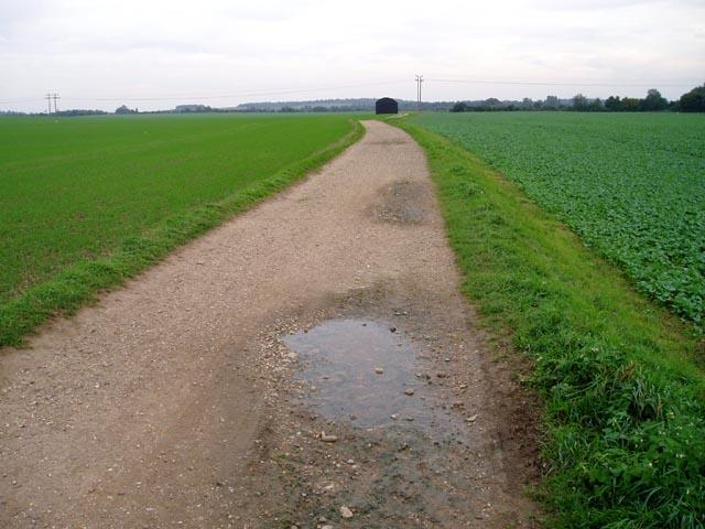 Bury Farm track