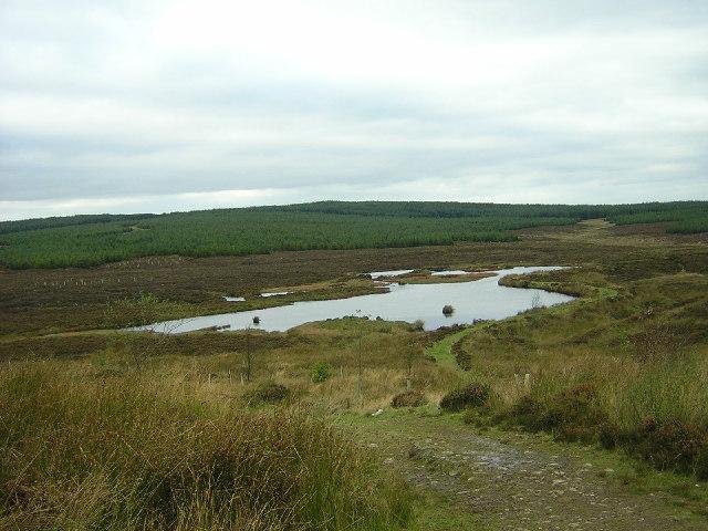 Loch Near Ardochrig Hill
