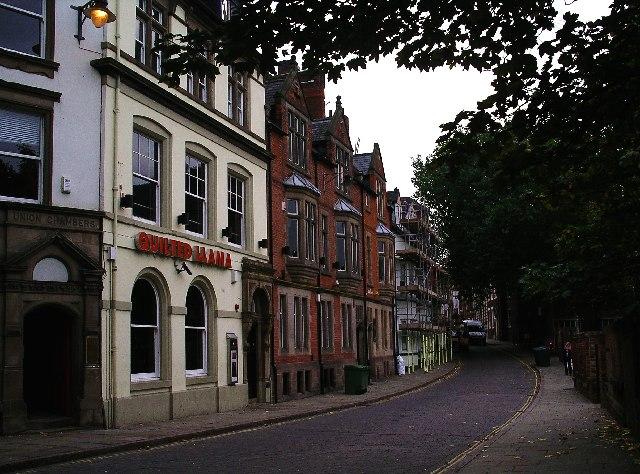 Weekday Cross, Nottingham