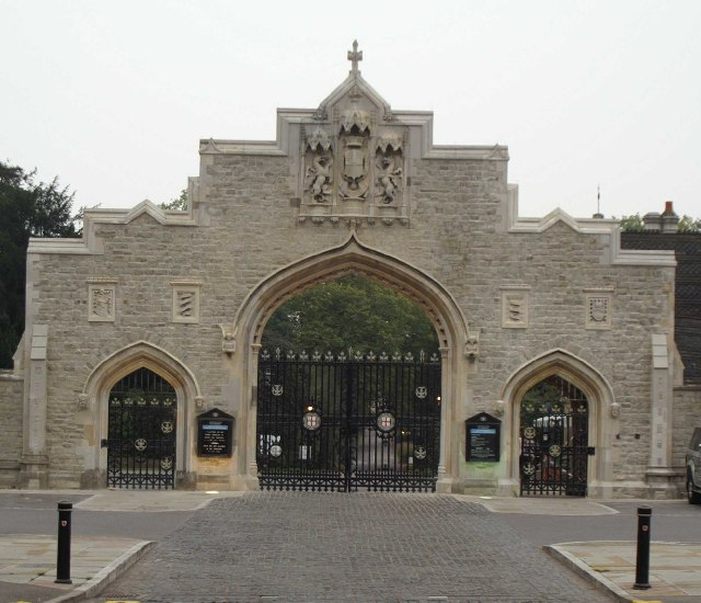 City of London Cemetery Gates