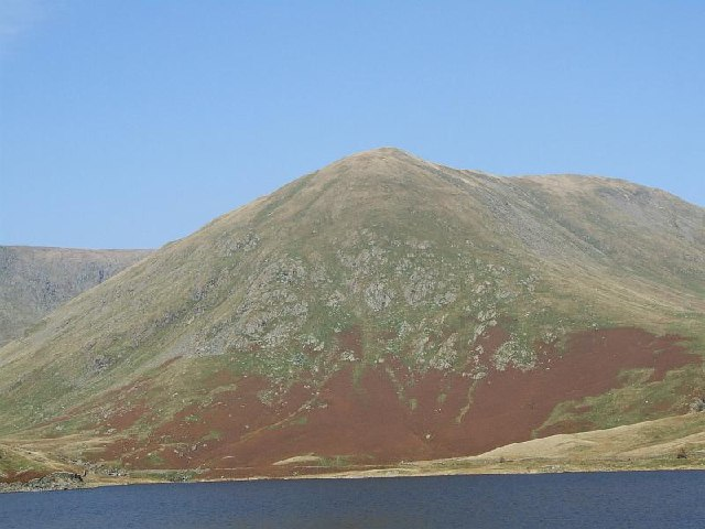 Kentmere Reservoir and Lingmell End