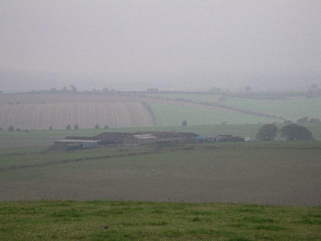 Farm Buildings near 'East Ditch'