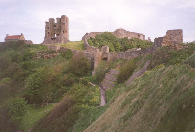 Scarborough Castle from the NW