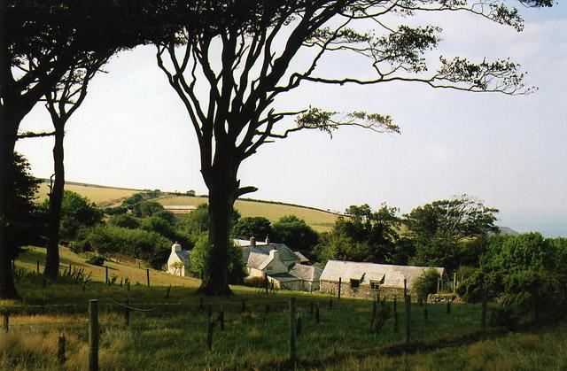 Countisbury: Kipscombe Farm