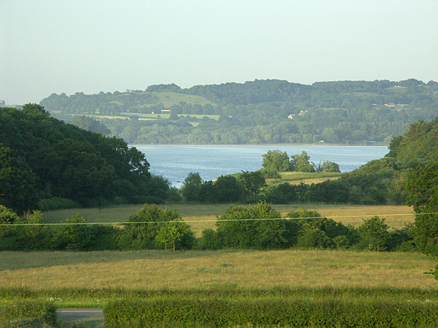ST553599 From Kingshill Lane over Chew Valley Lake