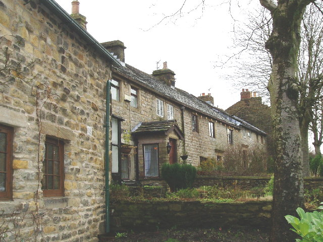 Stone terraces in Higham