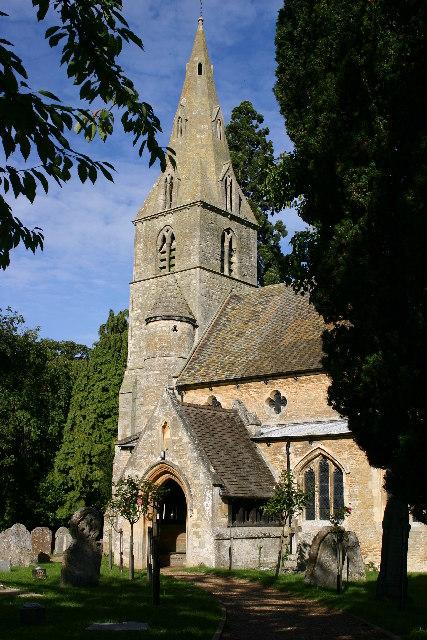 Hargrave church