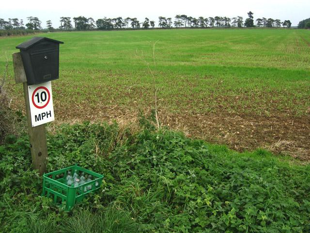 Farmland near Croxton Kerrial, Leicestershire
